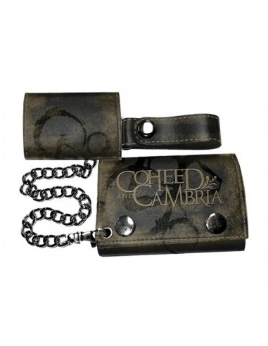 Coheed and Cambria - Chain Trifold Wallet Brown