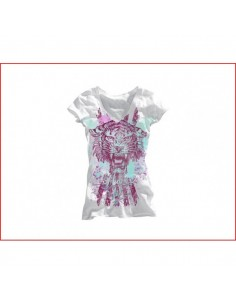 Miami Ink Dames T-shirt - Tijger