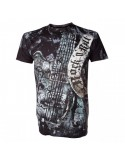 Alchemy Rock N Roll Gretsh Guitar Black T-Shirt