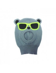 Freaks and Friends Teddy - Grey Sunglasses Face Mask