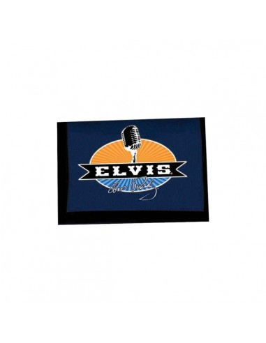 Elvis - Velcro Wallet