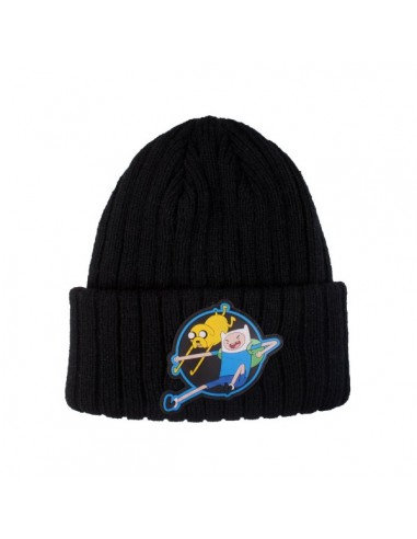 Adventure Time - Cuff Attack Beanie Muts Zwart Finn n Jake