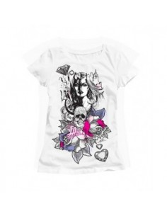 LA Ink White, Woman T-Shirt - She Devil