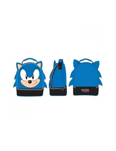 Sonic - Blauw - Big Face Lunchbox