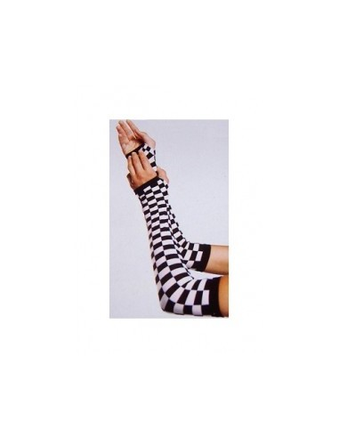 Arm Warmers - Ska Black White