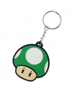 Nintendo - 1-Up Mushroom Rubber Key Chain