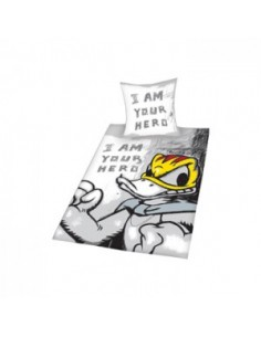 Donald Duck - White Bedcover I am Your Hero