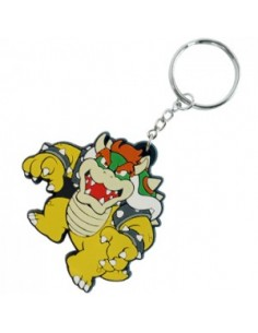Nintendo - Bowser Rubber Key Chain