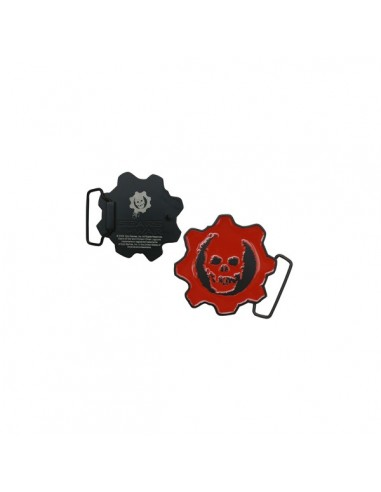 Gears of War - Crimson Logo Buckle