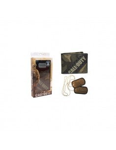 Call Of Duty - Bifold Portemonnee en Dogtags Halsketting Combo