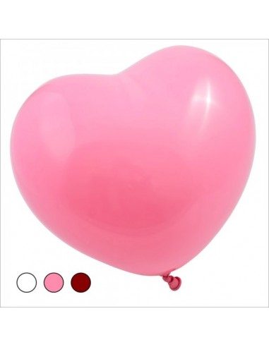 Balloon Heart Shape Natural Rubber