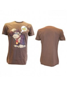Nintendo - T-shirt Brown Donkey Kong Wants Banana