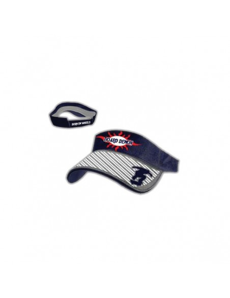 Visor Cap Board Demon - With Weld Navy Visor