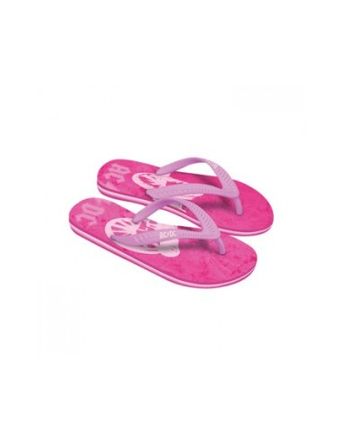 ACDC - Pink Roze Dames Teenslippers