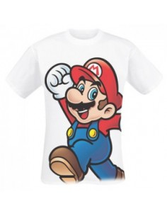Nintendo - T-shirt Wit Super Mario