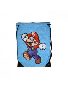Nintendo - Gym Bag Mario - blue