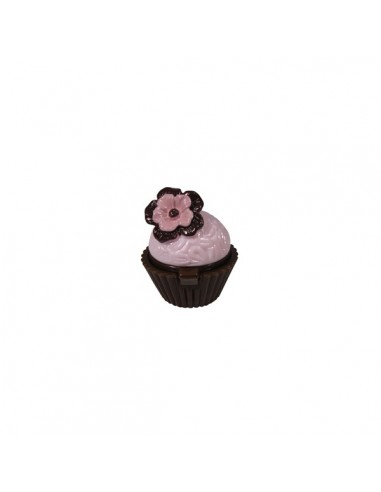 Sugar and Spice Lip Gloss Cupcake - Violet Fancy