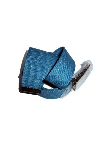 Belt blue with metal fastener