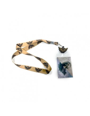 Nintendo - Zelda Lanyard Brown With Black Logo