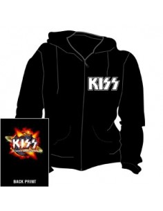 KISS The Hottest Show On Earth - Vest met Capuchon Hood