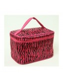 Make up tas - Case Pink Zebra