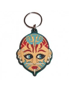 Piercing Tattoo Face - Key ring