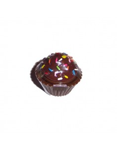 Naugthy but Nice! Lip Gloss Cupcake - Chocolate sprinkle