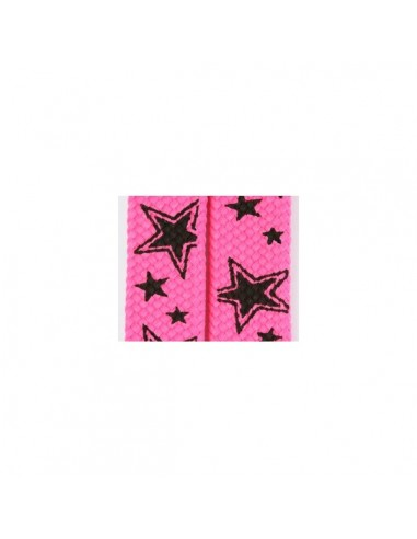 Shoelaces Pink Star