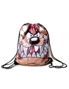 Looney Tunes - Taz Big Face  - Gymbag