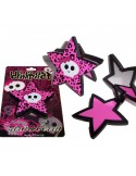 Star Skull Strawberry Compact Lip gloss with mirror