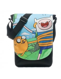 Adventure Time - Zwarte Messenger Tas Finn en Jake Koerierstas