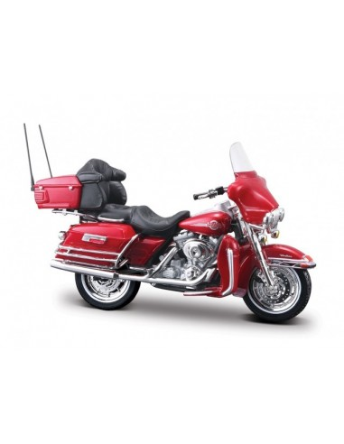 Harley-Davidson (R) Ultra Classic schaal 1:18 (bordeauxrood) Maisto(R)