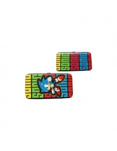 Sonic - Multi Color Hinge Wallet W Sonic