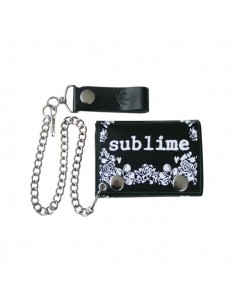 "Sublime ""Leaf"" - Chain Wallet"