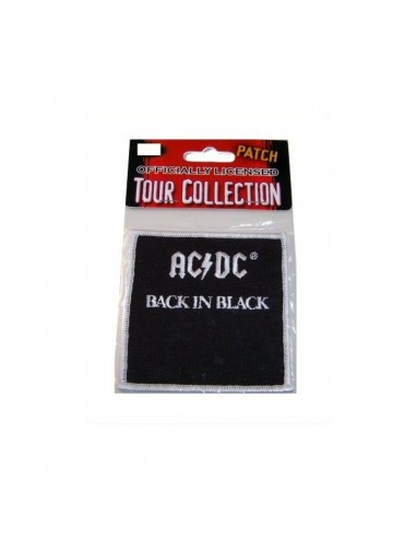 ACDC Patch Badge - Back in Black