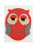 Red Owl Uil Patch Medium