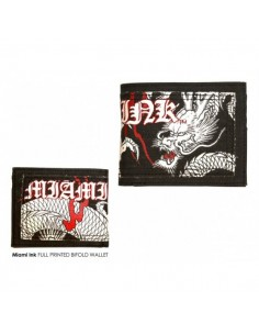 Miami Ink Black Dragon Wallet