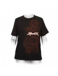 Miami Ink Heren T-shirt Black Snake