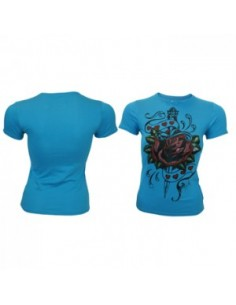 LA Ink Dames T-shirt Roos