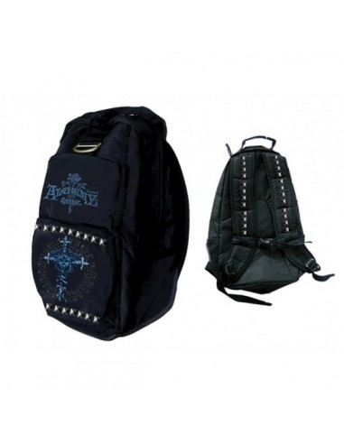 Alchemy Backpack Blue And Black With Studds