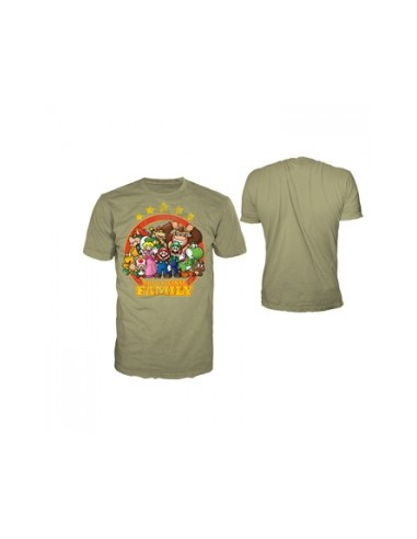 Nintendo - T-shirt Khaki - The Original Family
