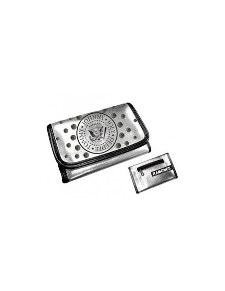 Ramones Girls Wallet Silver
