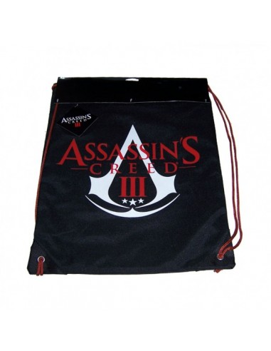 Assassins Creed III - Black Gymbag Logo