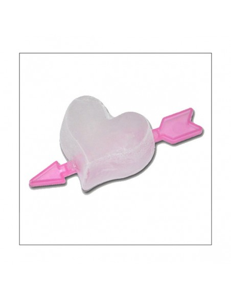 Ice Cube Tray Red Heart with Arrow