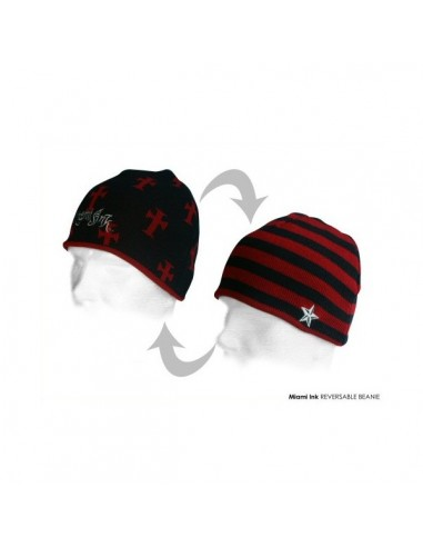 Miami Ink - Red Cross Beanie
