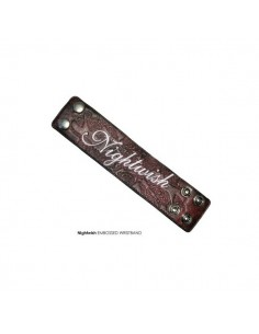 Nightwish Armband Met Embossing en Embroiderie