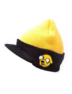 Adventure Time - Jake Billed Beanie Muts met Klep