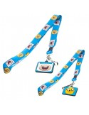 Adventure Time - Blue Lanyard Finn n Jake Duo