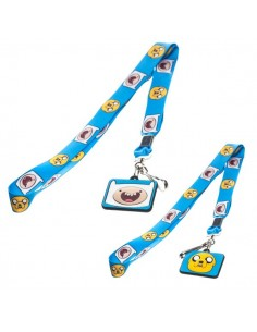 Adventure Time - Blauw Lanyard Finn n Jake Duo