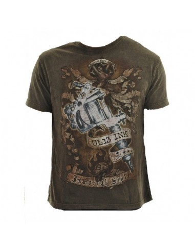 Alchemy Heren T-shirt - UL13 INK Tattoo Gun